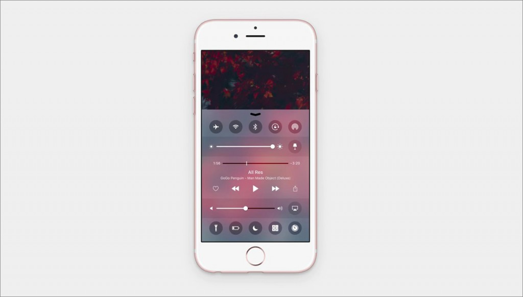 3D Touch + Control Center