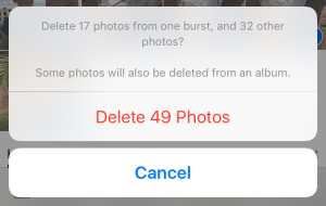 delete photos