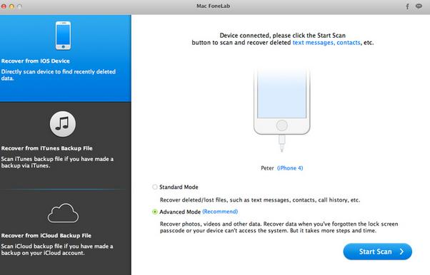 FoneLab –iPhone Data Recovery