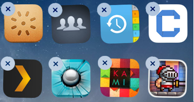 delete iphone apps