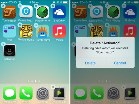 Delete Unwanted Apps/Files