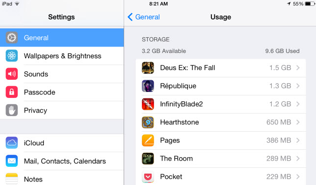 Ipad stuck with cache here is how to clear cache on ipad ipad setting general ccuart Images