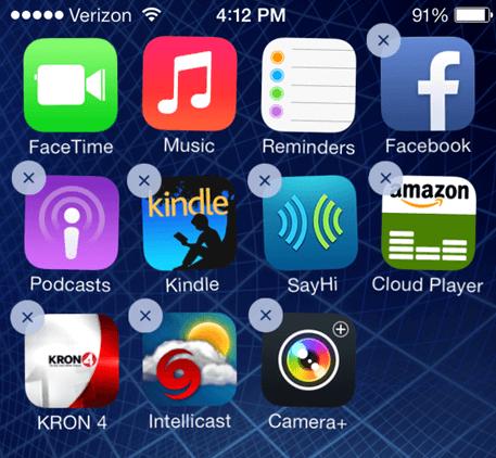 managing iphone storage