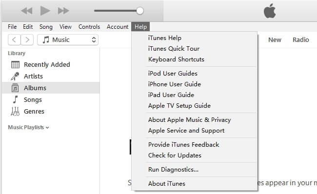 Launch iTunes and check for updates