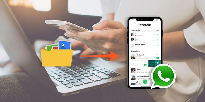 restore whatsapp backup to iphone