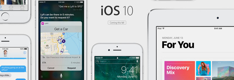 ios 10 new features