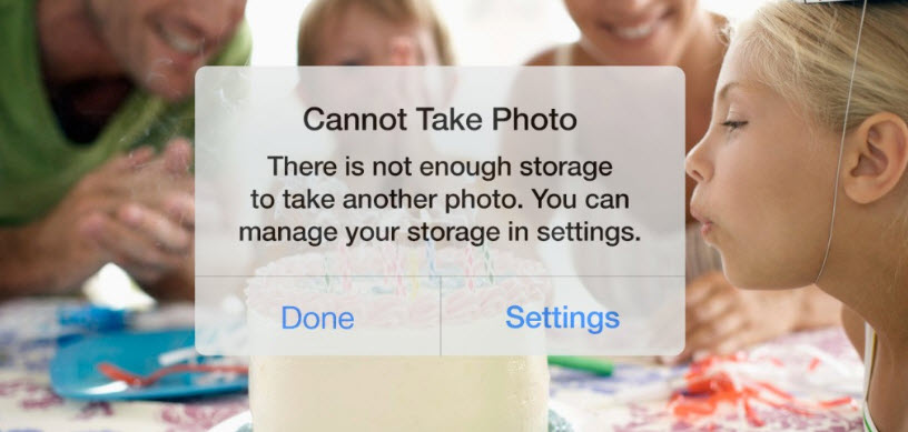 managing iphone storage