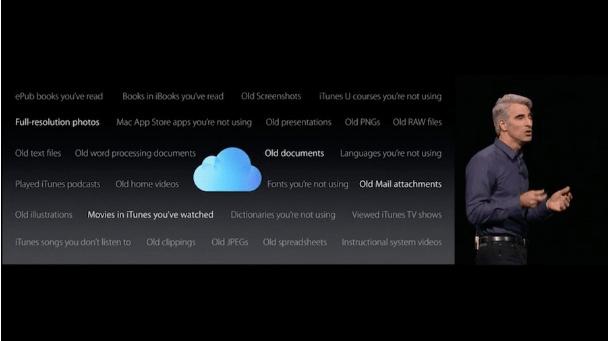 macOS optimized storage