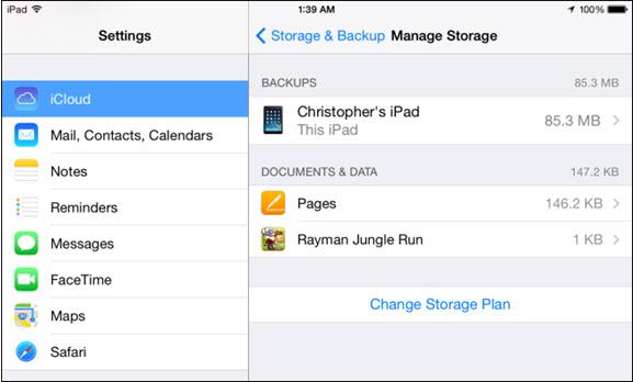 photos icloud storage