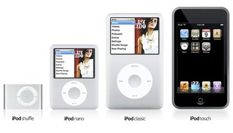 various ipod
