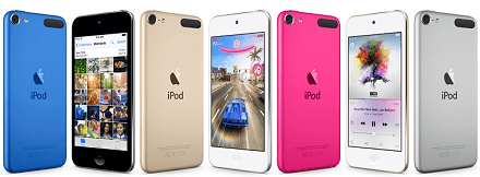 erase ipod touch