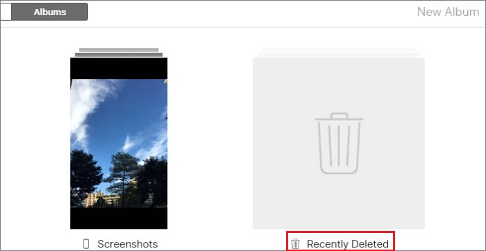 Preview File from iCloud Tab