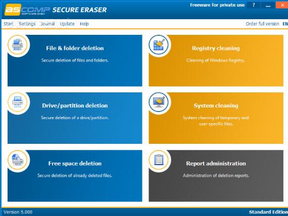 secure eraser