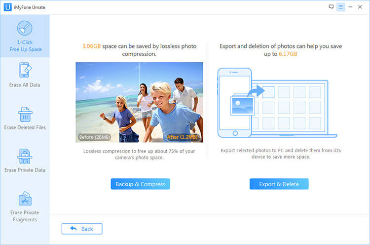 imyfone photos storage