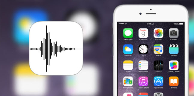 iPhone voice memo