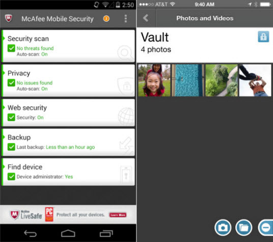 McAfee Mobile Securit