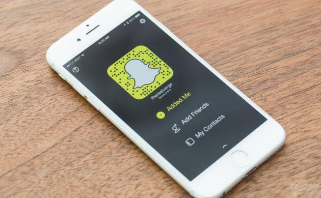 iphone snapchat