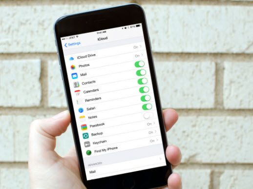 enable iCloud on old iPhone