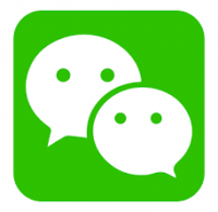 wechat on iPhone