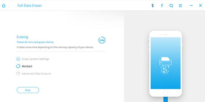 iPhone data cleaner