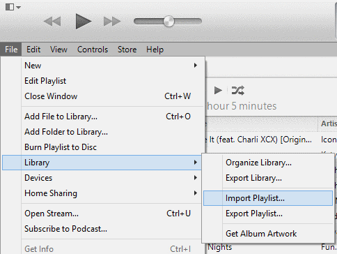 itunes-export-playlist