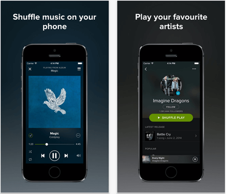 how to get music from itunes to spotify