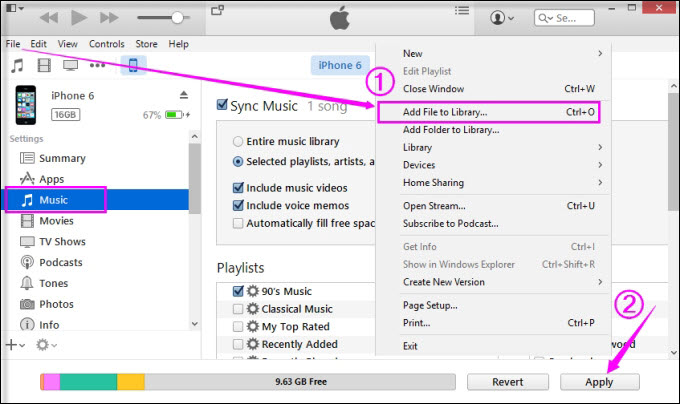 Free Ways to Transfer Files from PC to iPhone without iTunes