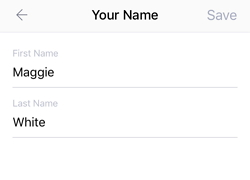 enter a new Kik display name of your choice
