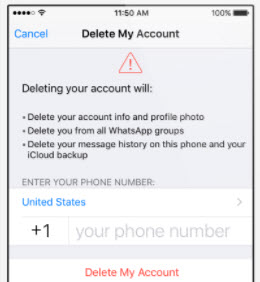 how to delete a number from iphone how to delete whatsapp data on iphone 19949