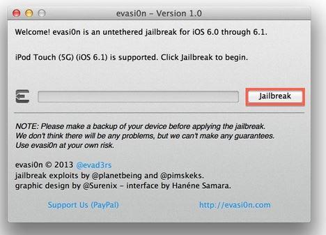iOS 10.3 Jailbreak evasi0n