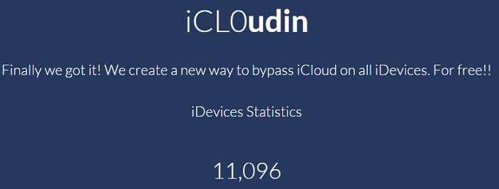 iCL0udin iCloud Bypass Tool