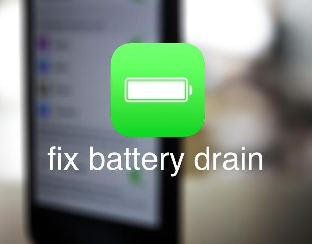 iOS 12 battery drain fix
