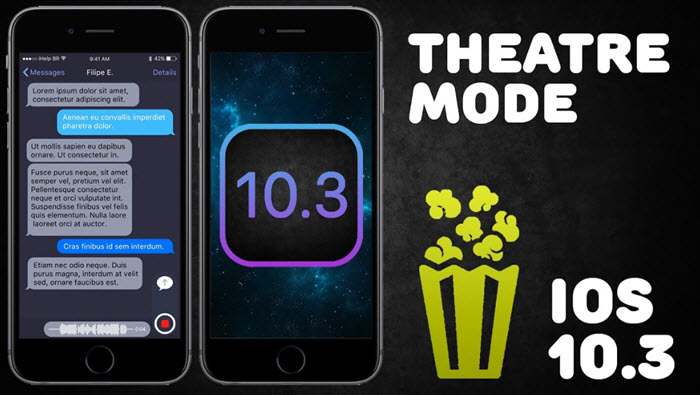ios theater mode