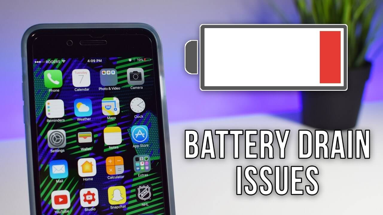 iOS battery issue