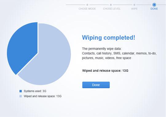Apowersoft iPhone wipe tool
