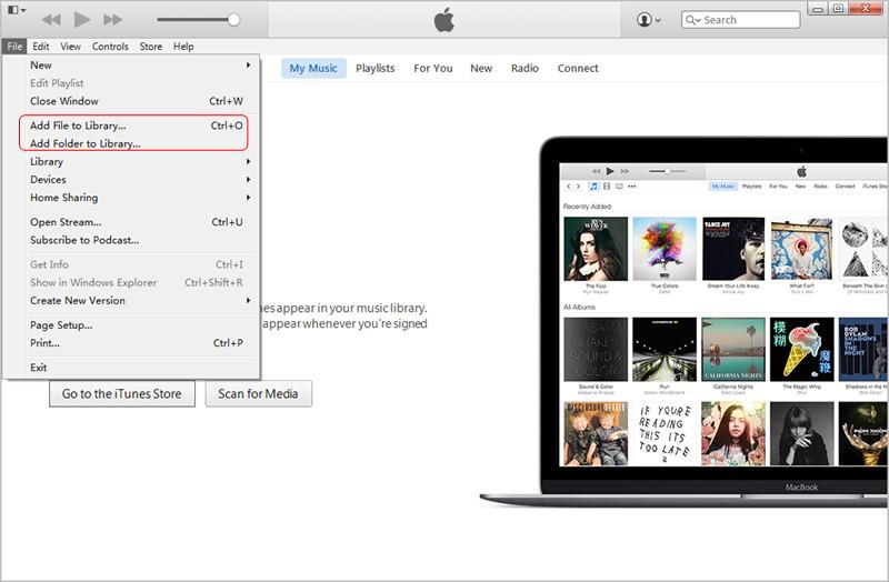 ajouter de la musique sur iPhone depuis un PC