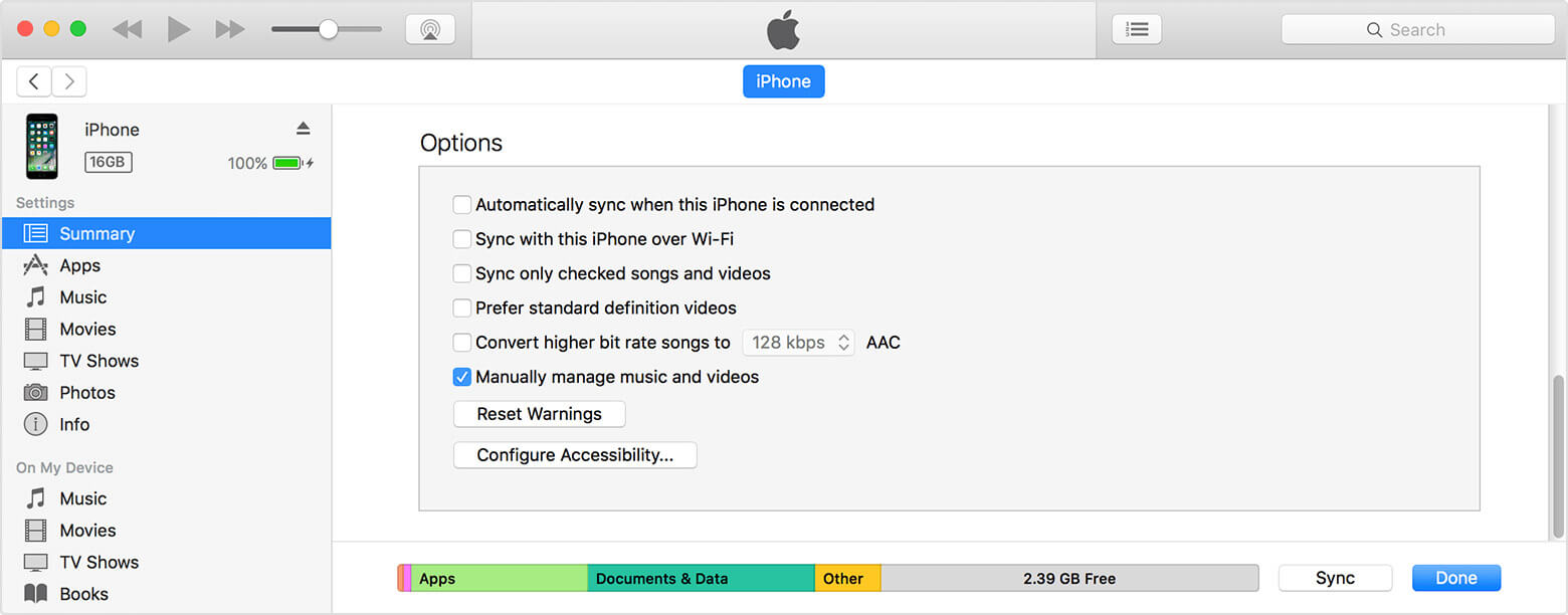 How to transfer songs from itunes pc to phone