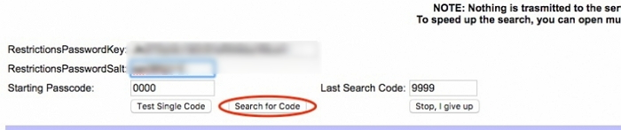 Search for Code