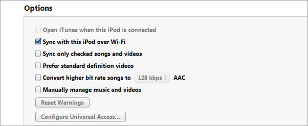 iPod will not sync