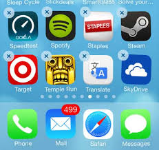 uninstall iPhone App