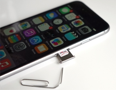 check iPhone SIM Card Slot