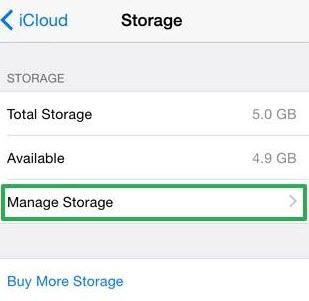 Cancel iCloud Storage Plan