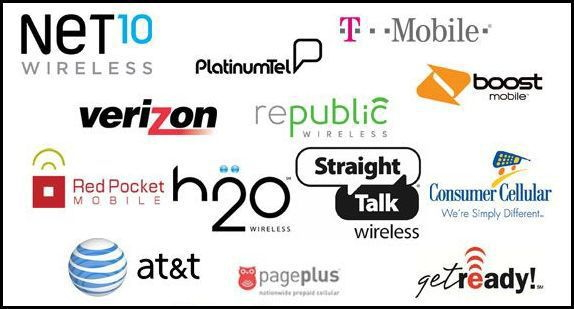 phone carrier logos