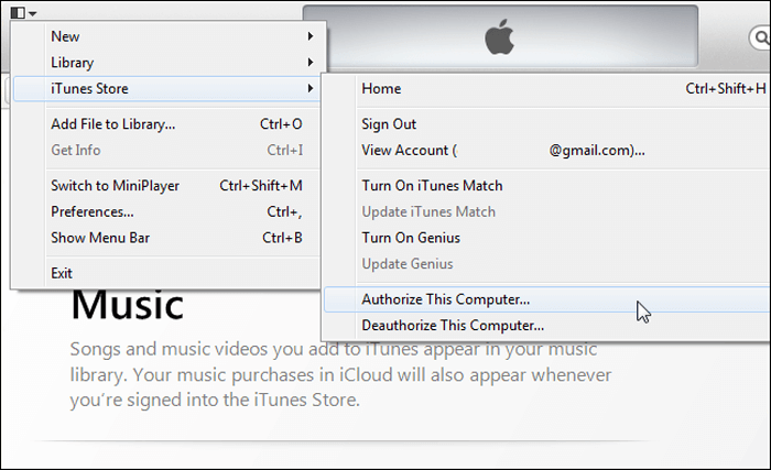 reauthorize iTunes for iPhone won't sync