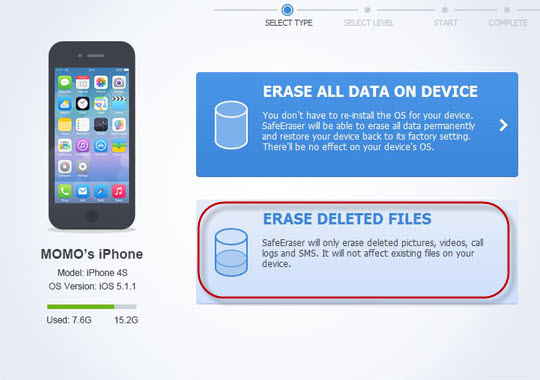 iPhone Data Cleaner