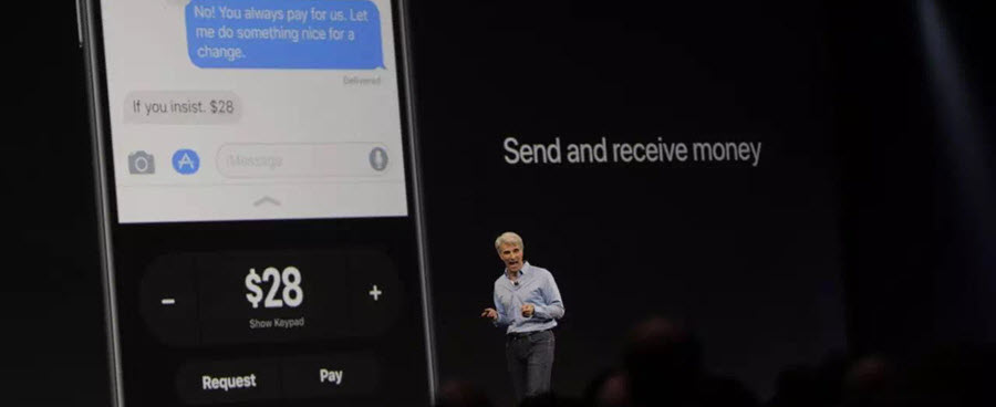 2017 WWDC Apple Pay
