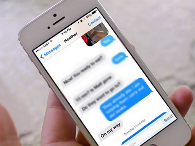 iPhone imessages