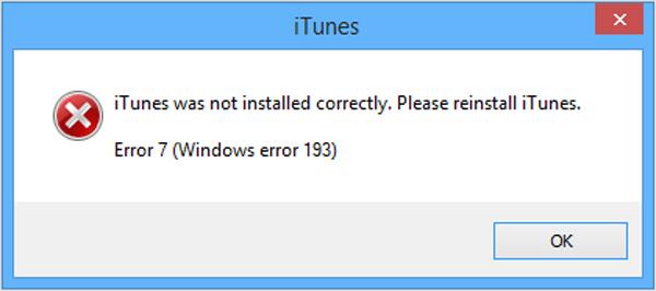Reinstall iTunes