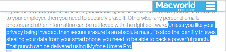 Umate Pro review