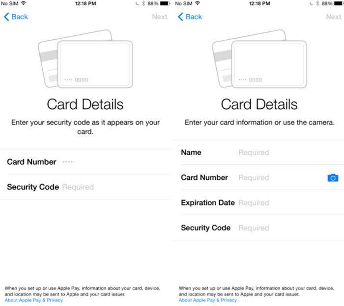 set up Apple pay